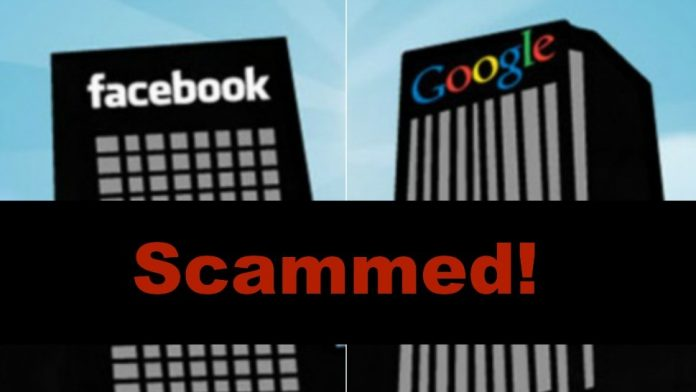 A Lithuanian man scammed Facebook and Google out of more than $100 million by sending them fake bills