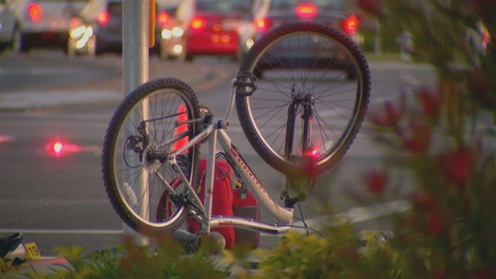 Eight pedestrians struck by car in a suspected intentional crash