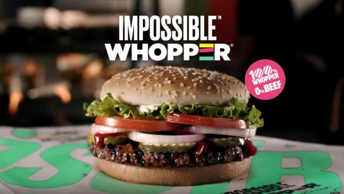 Burger King is testing out the veggie Impossible Whopper