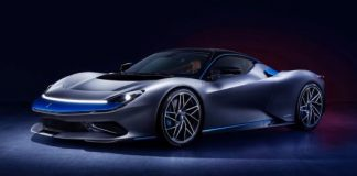 The £2MILLION all-electric Pininfarina Battista hypercar is unveiled in New York