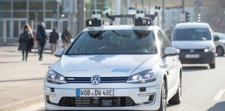 Self-driving cars are now on the streets of Hamburg