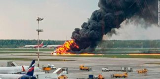 Lightning might have been the cause for the deadly Moscow plane crash