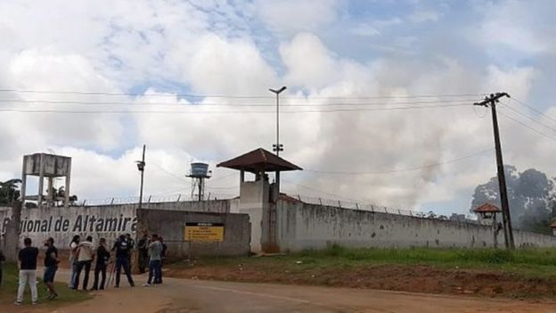 Brazil prison riot leaves 57 dead, 16 decapitated in